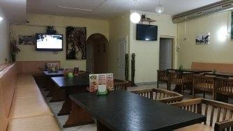 Interiér kebabárny - Kebab House (Chomutov)