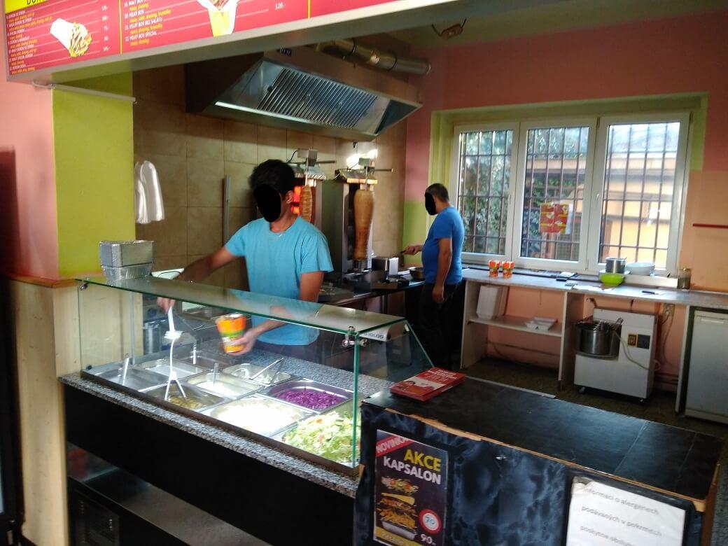 Interiér 2 - Sultan Pizza Doner Kebab (Kladno)