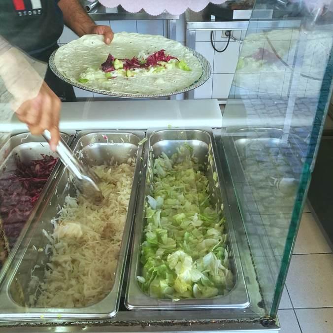 Váš kebab je právě připravován - Kebab tržnice Holešovice