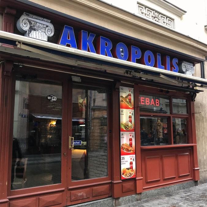 Zvenčí dobrý - Akropolis Kebab Krakov