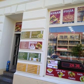 Exteriér - Kebab & Pizza Antalya (Rakovník)