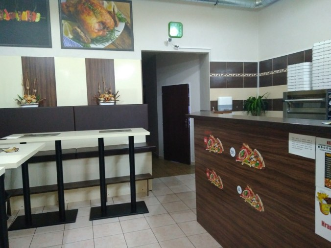 Interiér - Kebab & Pizza Antalya (Rakovník)