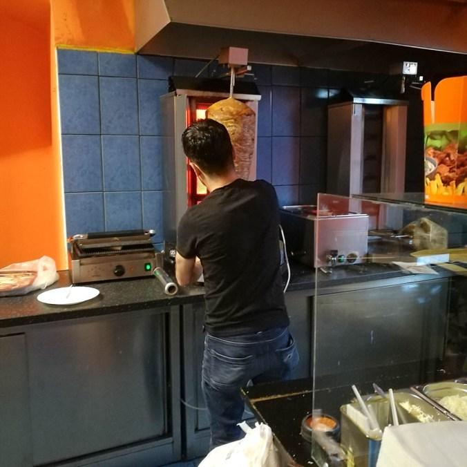 Kebabmistr v akci - Kebab House Štětí