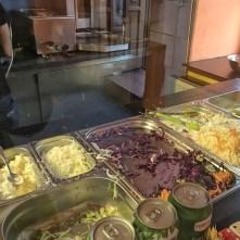 Zelenina a zálivky - Kebab House Štětí