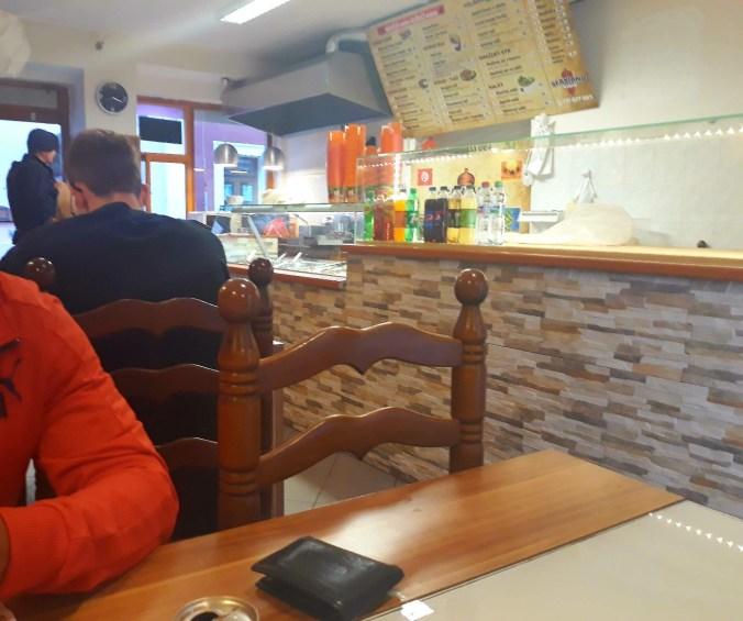 Interiér - Sfaxiano Kebab, Litoměřice