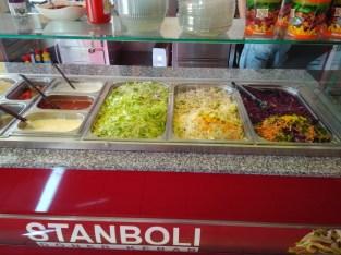 Zelenina - Stanboli Döner kebab Trutnov