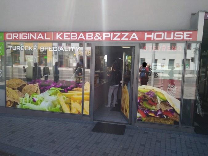 Exteriér - Original Döner Kebab House, Tábor