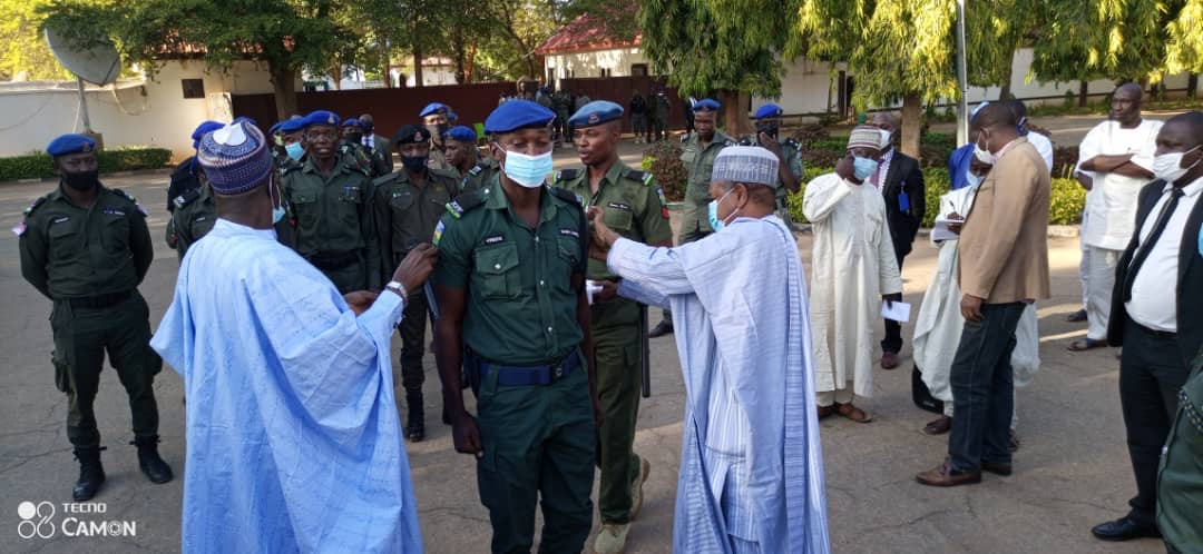Kebbi Governor decorates promoted Police Officers, charges them on diligence, hard work, dedication