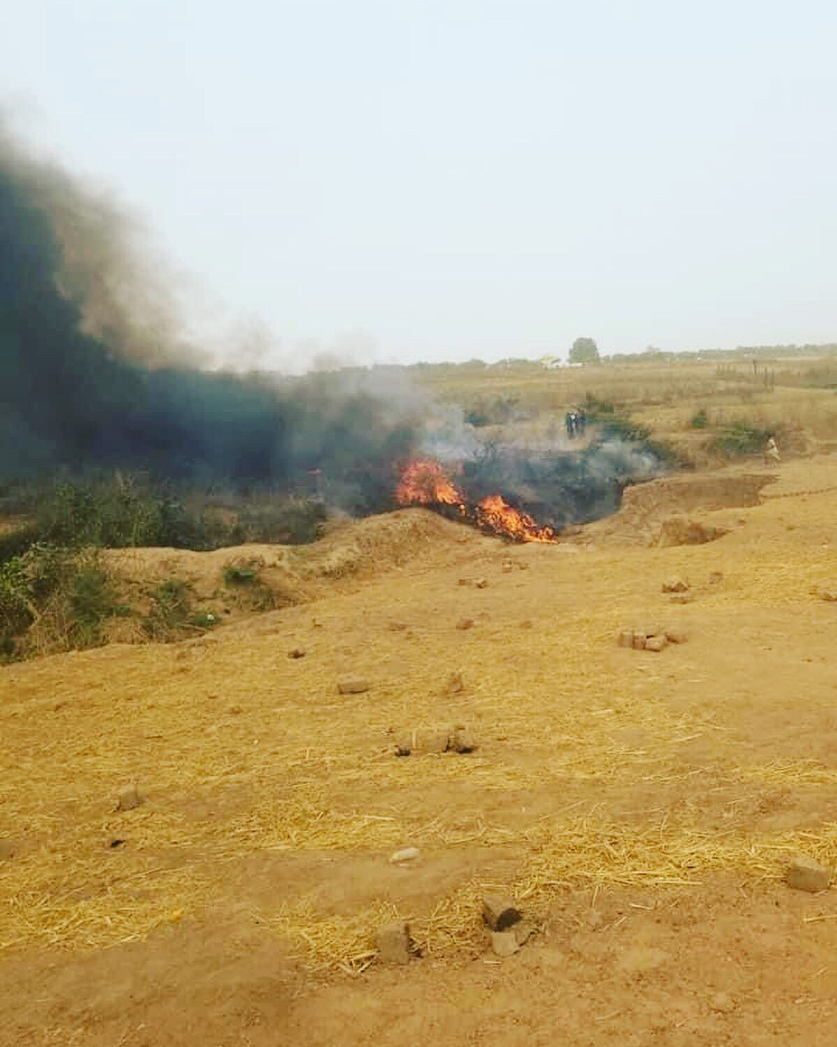 On Air Accident Involving Nigerian Air Force Aircraft