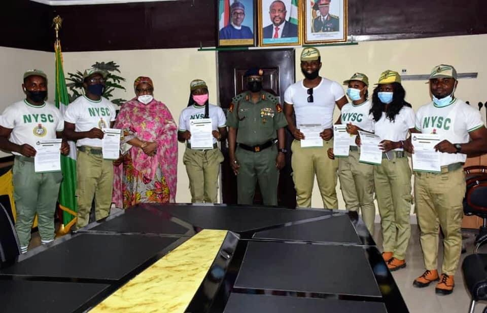 Covid-19: Director-general Commends Corps Members On Production Of Safety Kits