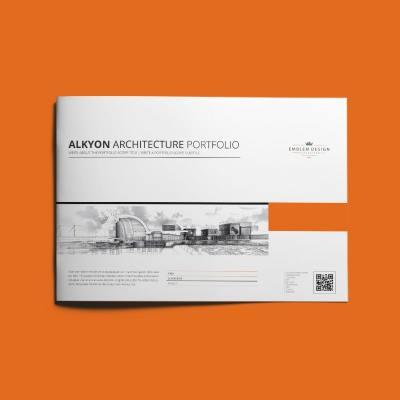 Alkyon Architecture Portfolio A4 Landscape