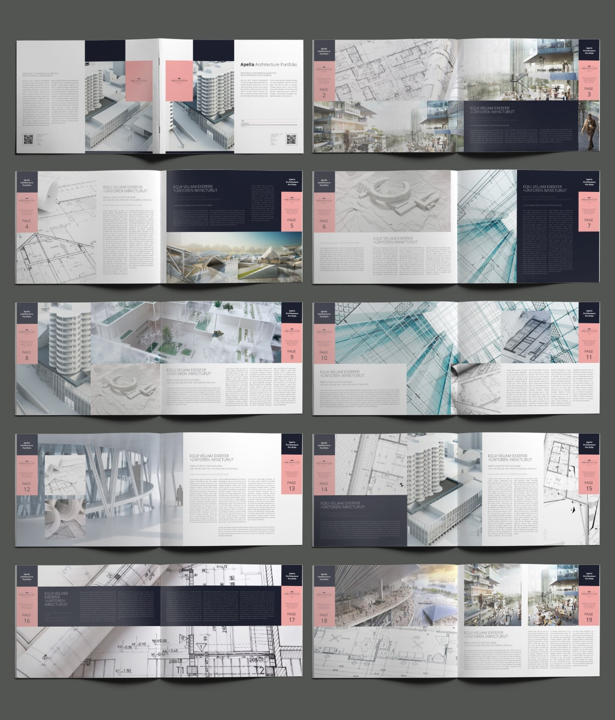 Apella Architecture Portfolio US Letter Landscape - Layouts