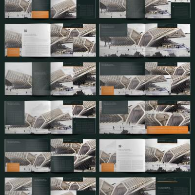 Architecture Portfolio 30 Pages A4 Template - Layouts