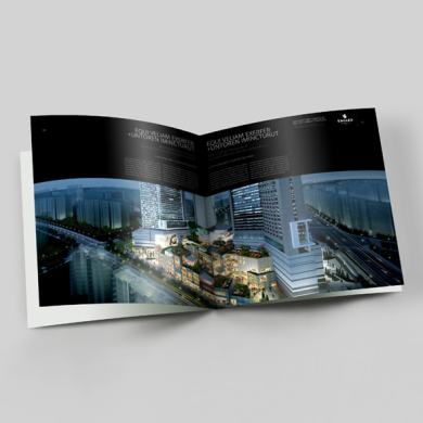 Architecture Portfolio Square Format Template – kfea 2-min