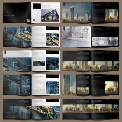 Architecture Portfolio Template - Layouts