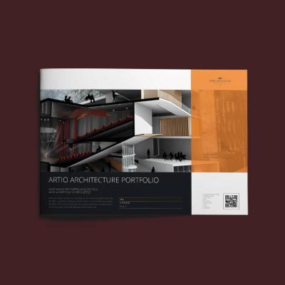 Artio Architecture Portfolio A4 Landscape