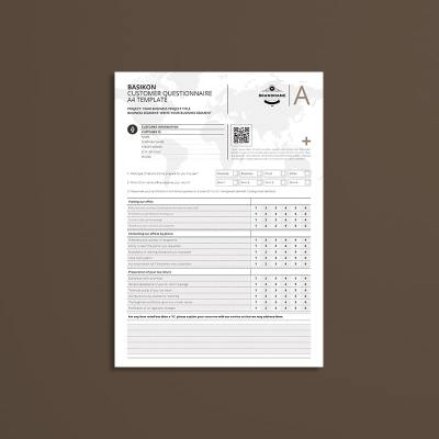 Basikon Customer Questionnaire A4 Template
