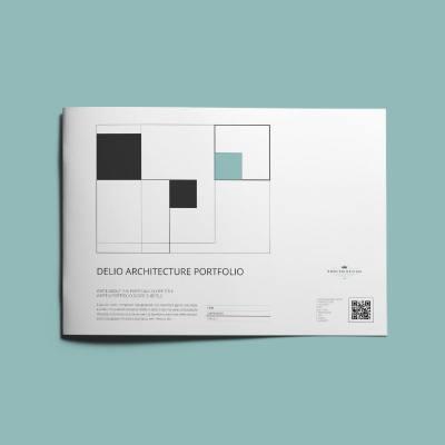 Delio Architecture Portfolio A4 Landscape