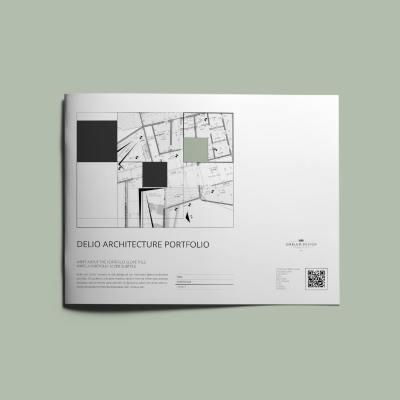 Delio Architecture Portfolio US Letter Landscape