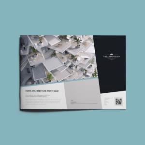 Domi Architecture Portfolio A4 Landscape