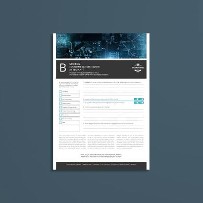Genikon Customer Questionnaire A4 Template