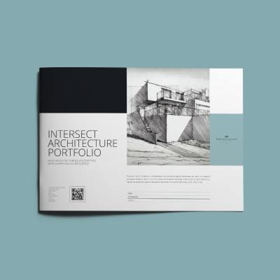 Intersect Architecture Portfolio A4 Landscape