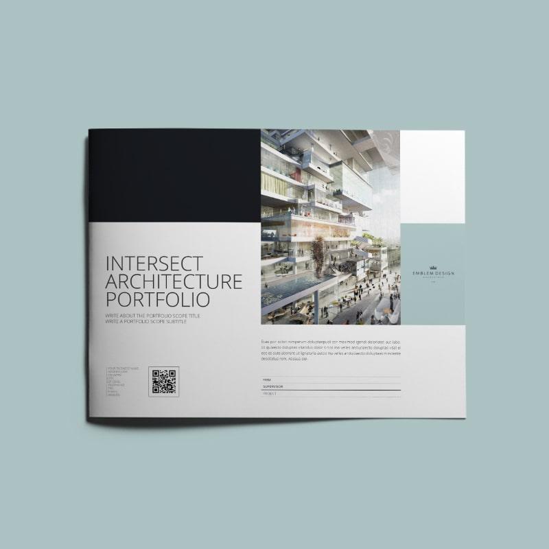 Intersect Architecture Portfolio US Letter Landscape | keboto org