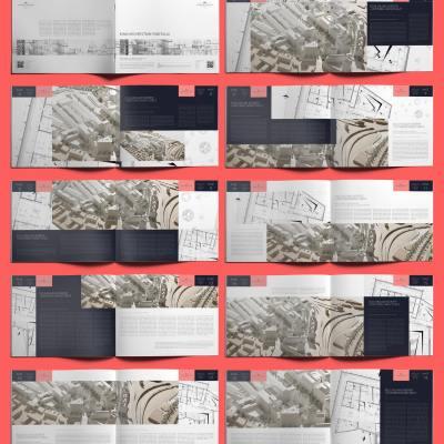 Ionia Architecture Portfolio US Letter Landscape - Layouts