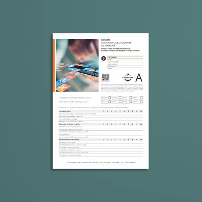 Kanon Customer Questionnaire A4 Template