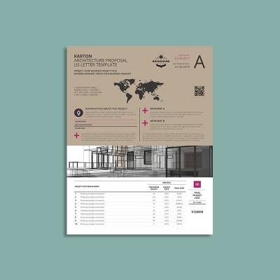 Karton Architecture Proposal US Letter Template