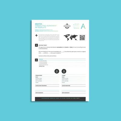 Kratos Consulting Agreement A4 Template