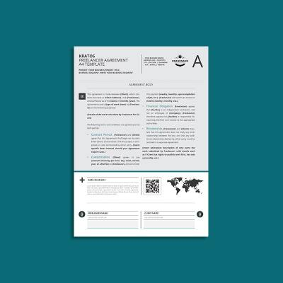 Kratos Freelancer Agreement A4 Template