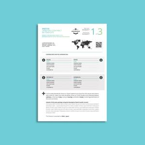 Kratos Land Sale Contract A4 Template