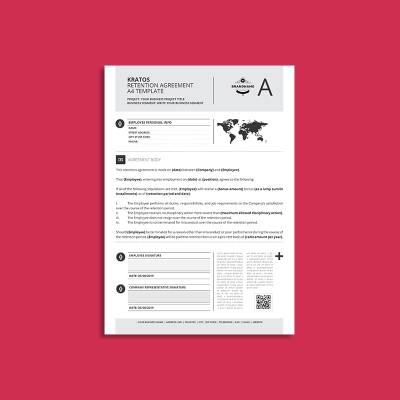 Kratos Retention Agreement A4 Template