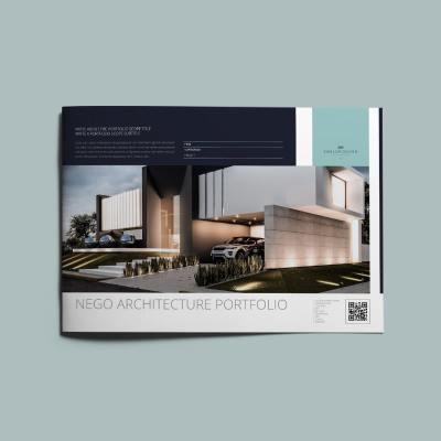 Nego Architecture Portfolio A4 Landscape