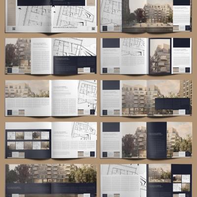 Nego Architecture Portfolio US Letter Landscape - Layouts