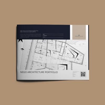 Nego Architecture Portfolio US Letter Landscape