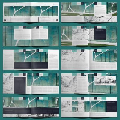 Nemea Architecture Portfolio A4 Landscape - Layouts