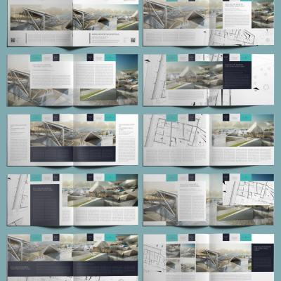 Nemea Architecture Portfolio US Letter Landscape - Layouts