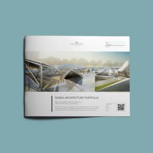 Nemea Architecture Portfolio US Letter Landscape