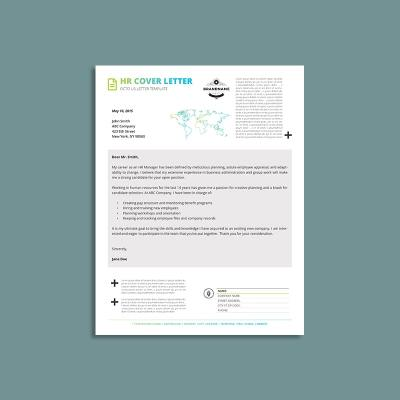 Octo HR Cover Letter US Letter Template