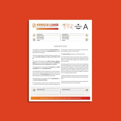 Octo Vehicle Lease Agreement US Letter Template