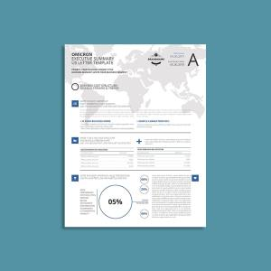Omicron Executive Summary US Letter Template