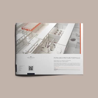 Petra Architecture Portfolio US Letter Landscape