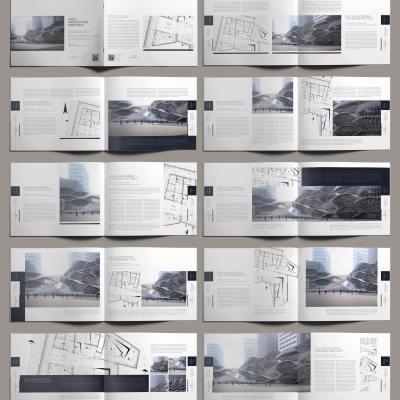 Polis Architecture Portfolio US Letter Landscape - Layouts