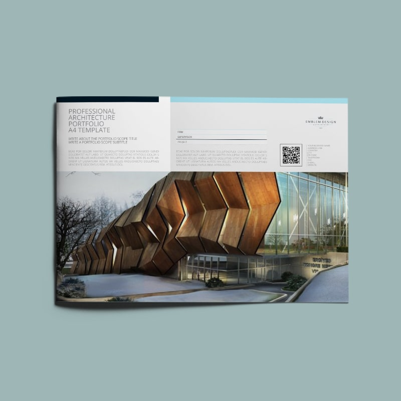 Architectural Portfolio Template