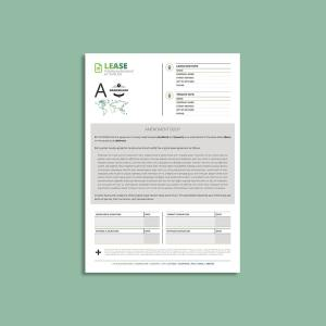 Tessera Lease Amendment A4 Template
