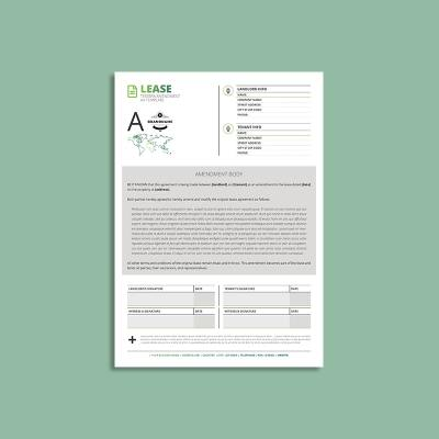 Tessera Lease Amendment A4 Template