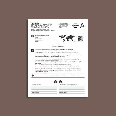 Tessera Retention Agreement US Letter Template