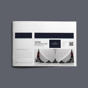 Thyra Architecture Portfolio A4 Landscape